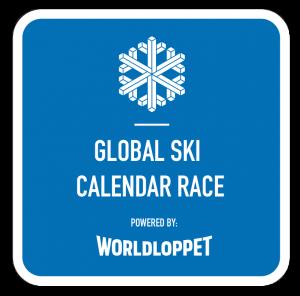 Global ski calendar race